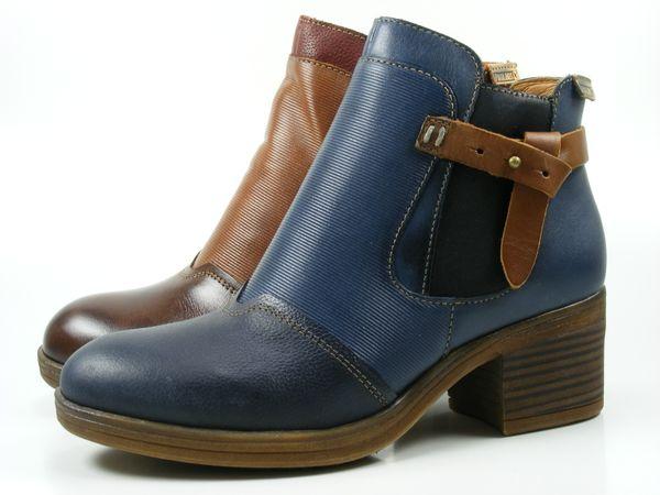 Pikolinos W6N-8950 Lyon Schuhe Damen Ankle Boots Stiefeletten