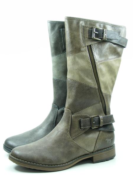 Mustang 1265-507 Schuhe Damen Stiefeletten Stiefel