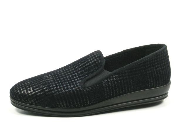 Rohde Lillestrom 2601-90 Schuhe Herren Hausschuhe Weite G 1/2
