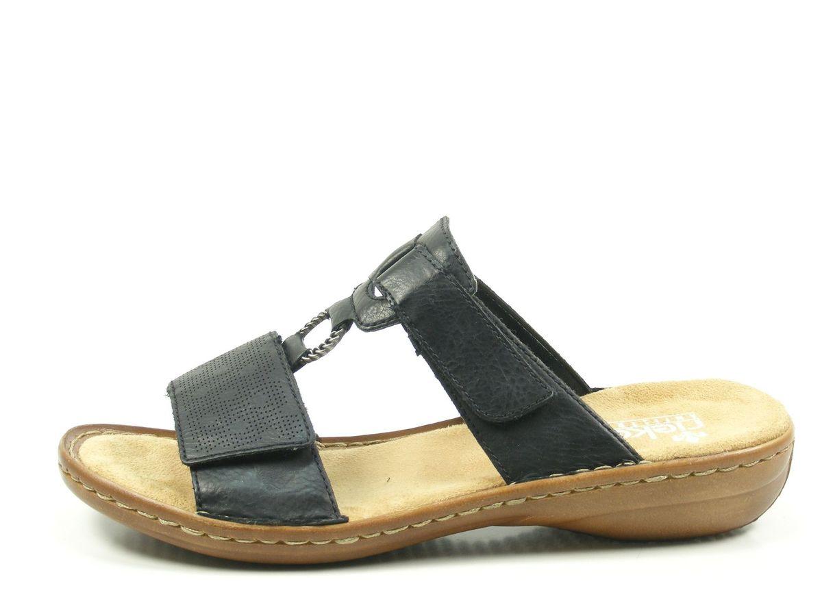 rieker 60885 schuhe damen pantoletten sandalen. Black Bedroom Furniture Sets. Home Design Ideas