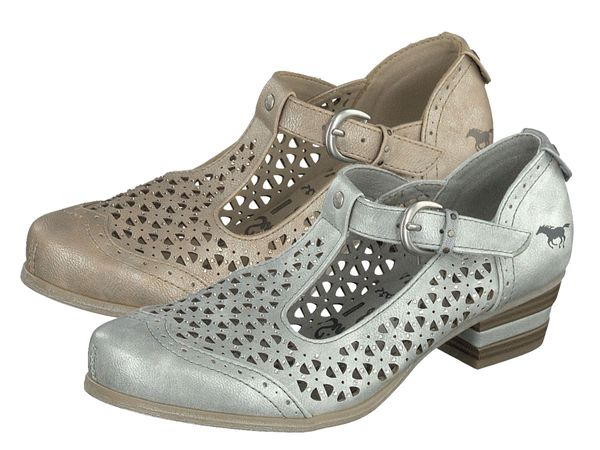 Mustang Spangen Pumps 1187-207 Metallic Damen Schuhe