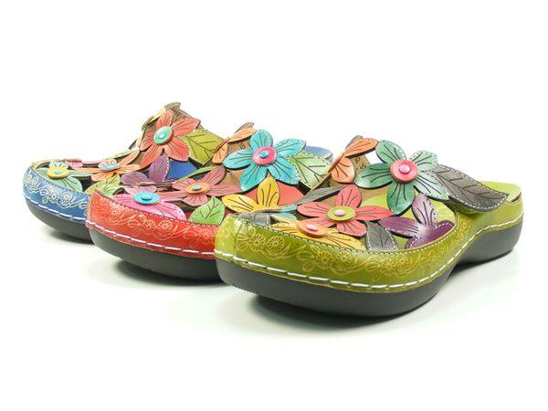 Laura Vita JD2183-52 Billy 52 Schuhe Damen Clogs Pantoletten