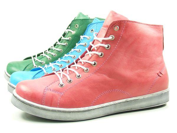 Andrea Conti Sneaker High mit Reißverschluss 0341500 Damen Schnürboots