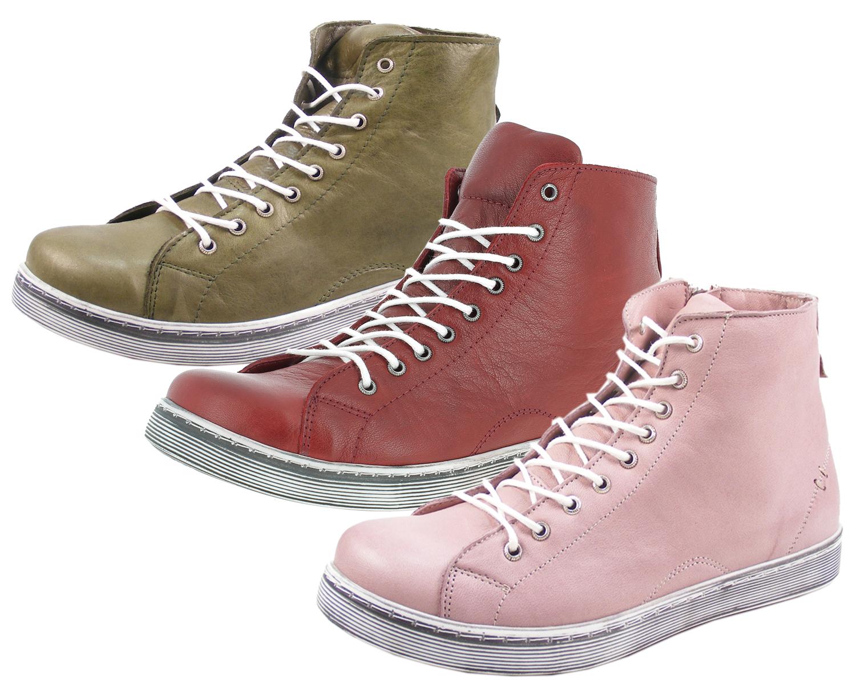 Damen Reißverschluss Andrea High Mit Sneaker Conti Schnürboots 0341500 zqSMVLGUp