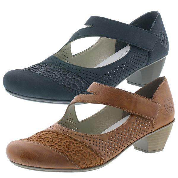 Rieker 41743 Schuhe Damen Slipper Pumps