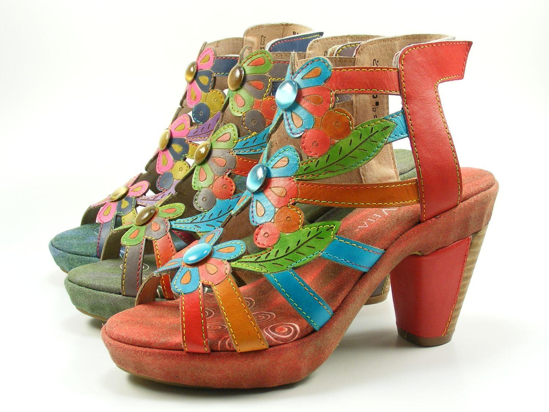 Laura Vita SL3035 10 Barbara 10 Schuhe Damen Sandalen