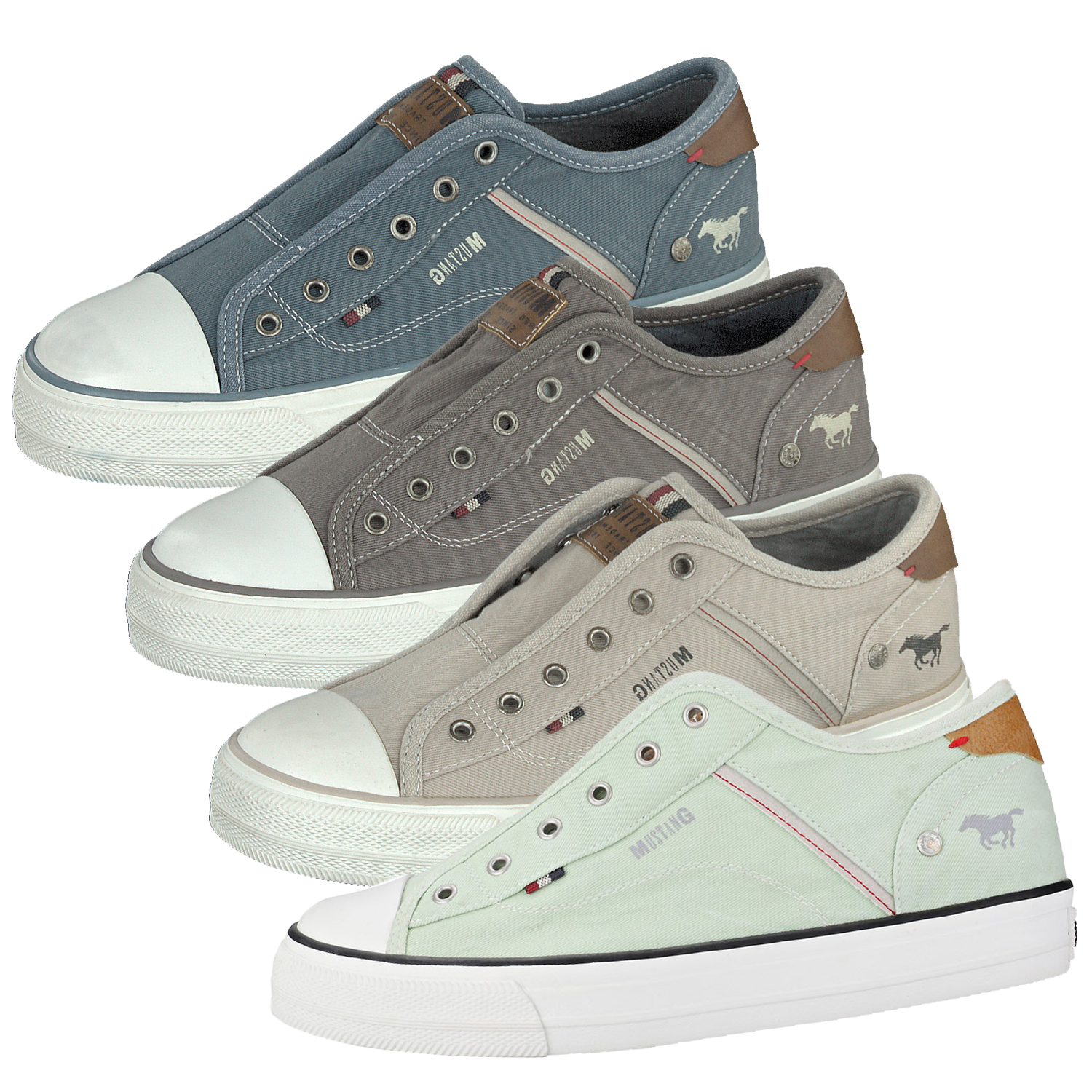Mustang 1272-401-203 Sneaker Donna ICE tessile