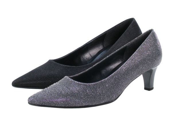 Gabor 91-350 Schuhe Damen Pumps Weite F Effekt Metallic