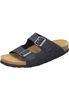 Dr. Brinkmann Sandalen Clogs Unisex 600357 Schuhe Damen Herren Pantoletten Leder Blau 001