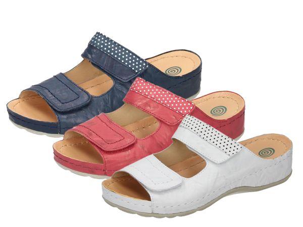 Dr. Brinkmann 701202 Schuhe Damen Pantoletten Clogs Sabot Leder