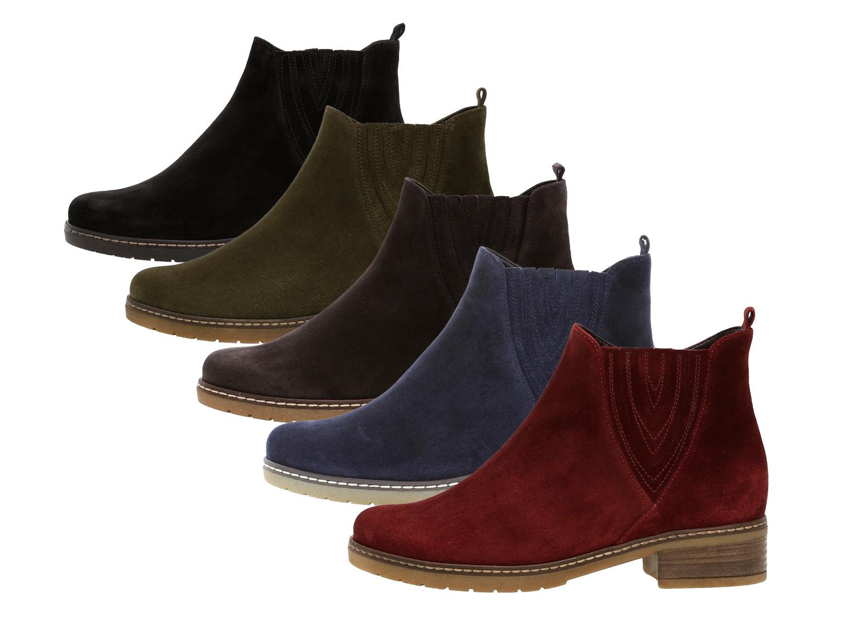 Gabor 92 726 Damen Stiefeletten Chelsea Boots Weite H