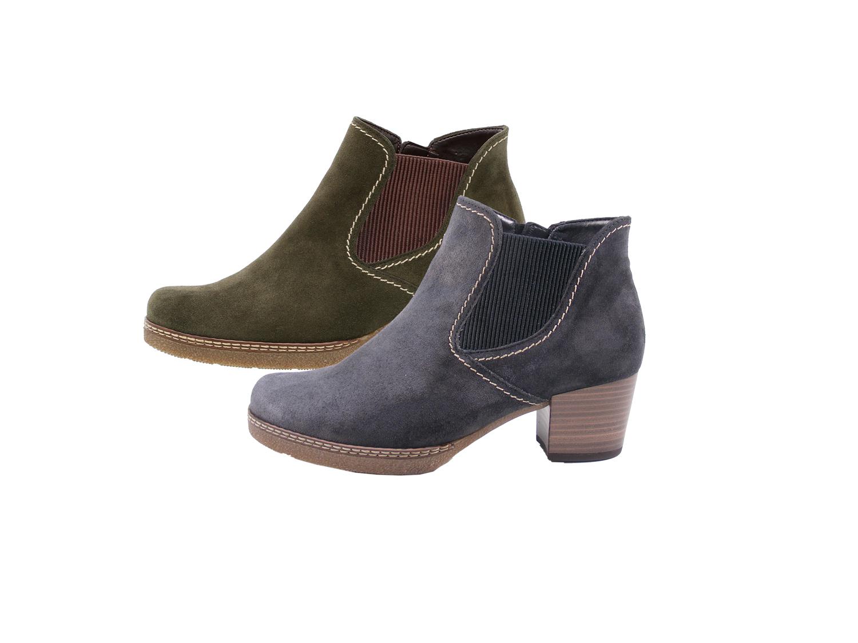 huge discount 75c0f 26968 Gabor 96-661 Damen Stiefeletten Chelsea Boots Weite G