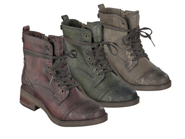 Mustang 1293-501 Schuhe Damen Stiefeletten Ankle Boots