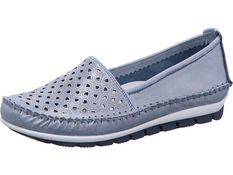 Details zu Gemini 003128 85 Schuhe Damen Ballerina Slipper Mokassins