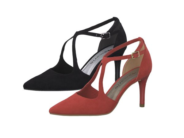 Tamaris 1-24415-22 Damen Pumps Riemchenpumps Stiletto High-Heels