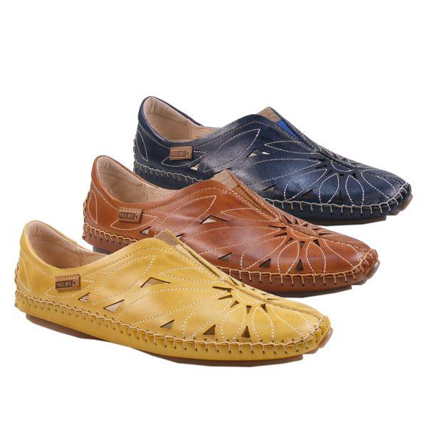 Pikolinos 578-7399 Jerez Schuhe Damen Halbschuhe Slipper