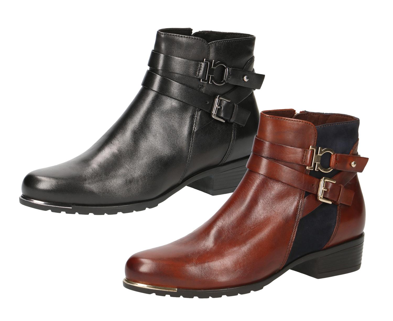 Caprice 9 25309 23 Damen Schuhe Chelsea Boots Stiefeletten Leder