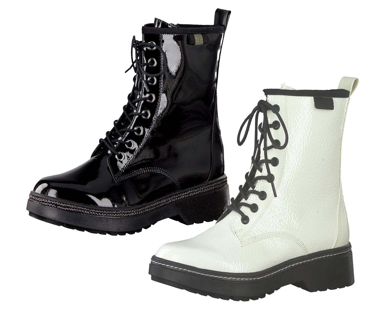 Tamaris 1 25224 23 Schnürstiefelette Damen Schuhe Combat Boots Stiefeletten