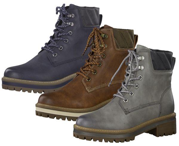 brand new 1fad6 ebc03 Tamaris Schnürboots 1-25250-23 Damen Schuhe Stiefeletten Chelsea Boots