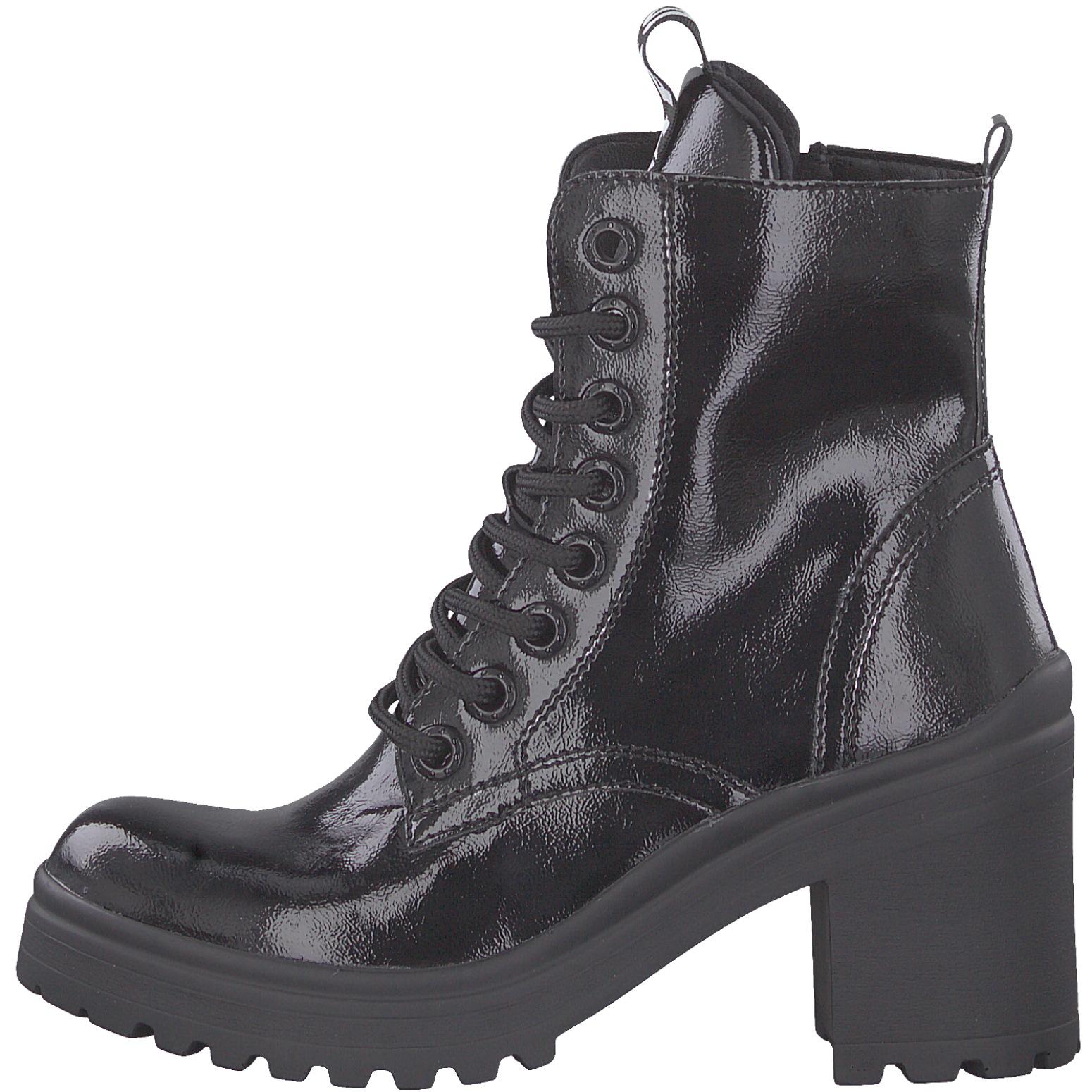 Details zu Tamaris 1 25282 23 Damen Schuhe Schnürstiefelette Plateau Boots Stiefeletten