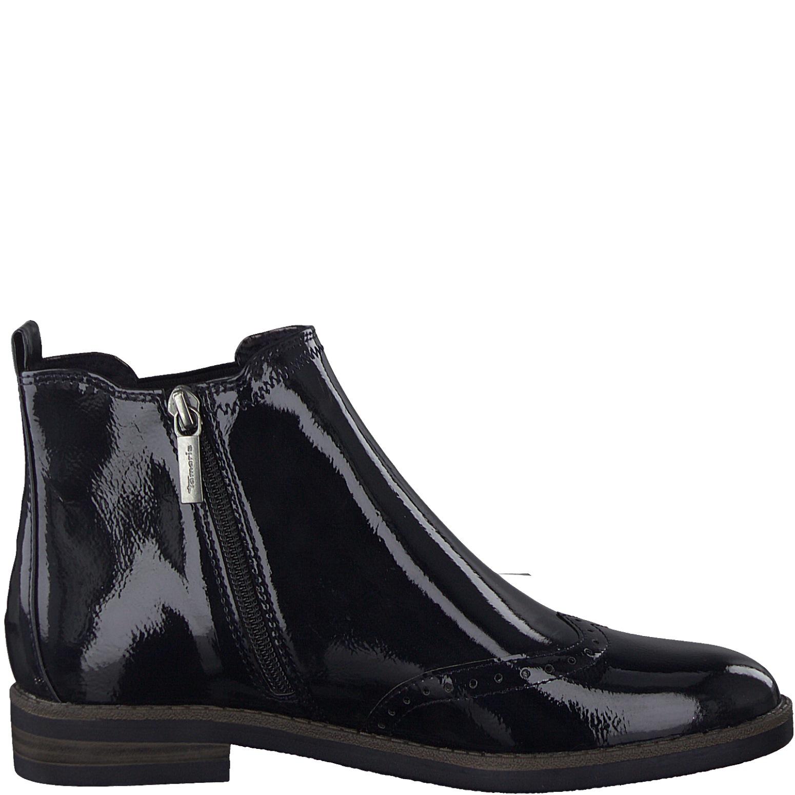 Tamaris Damen 1 25313 23 Stiefeletten Chelsea Boots Lack