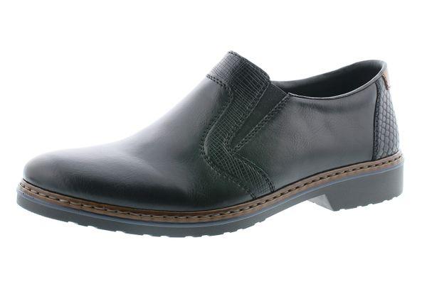 Rieker Herren 16571-00 Schuhe Halbschuhe Slipper extra Weit