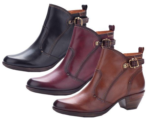 Pikolinos 902-8605C1 Rotterdam Damen Schuhe Ankle Boots Stiefeletten