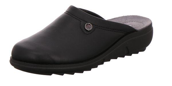 Rohde 2366 Bologna Damen Pantoffeln Hausschuhe Softnappa Weite F 1/2