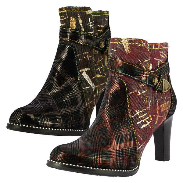 Laura Vita SL316-126 Alcbaneo 126 Damen Schuhe Stiefeletten Ankle Boots