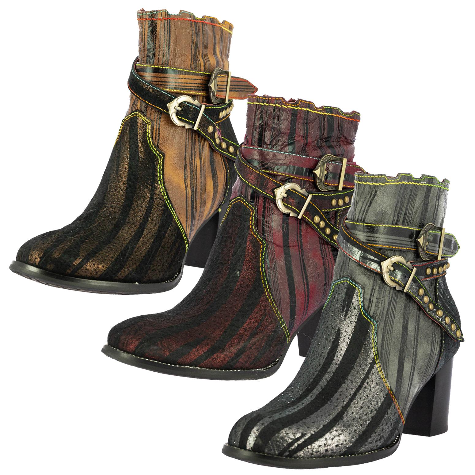 977 37 39 blua Grau Rieker Booty Boots Stiefelette Gr NEU
