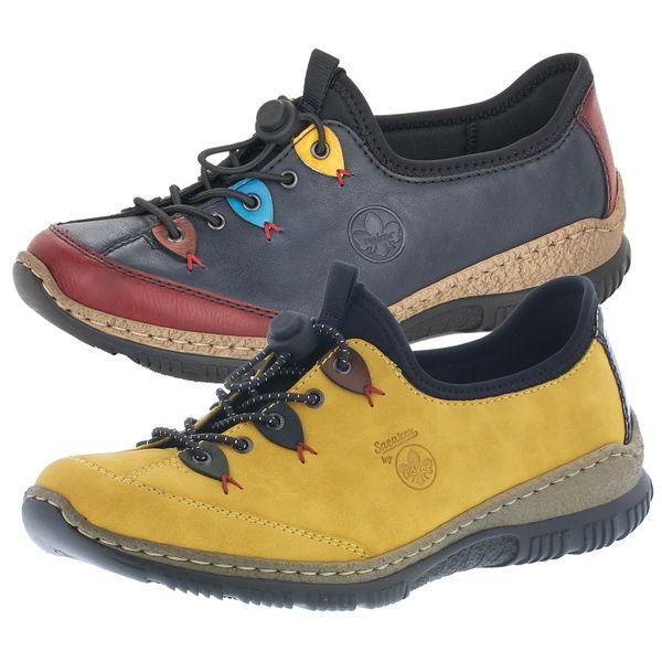 Rieker N3271 Damen Schuhe Halbschuhe Sneaker