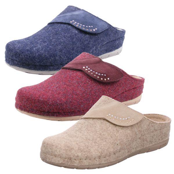 Rohde 6038 Damen Rodigo-40 Hausschuhe Pantoffeln Softfilz