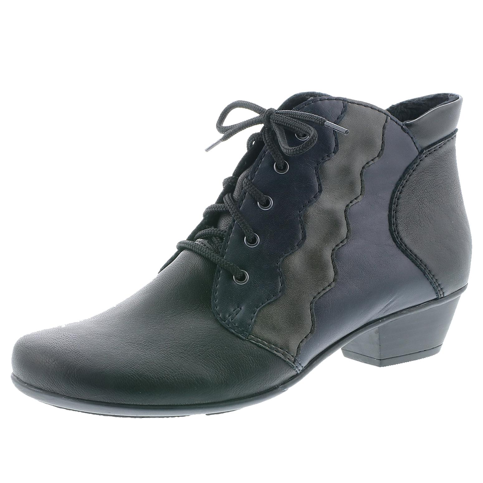 Rieker Y7331 00 Damen Stiefel Stiefeletten Ankle Boots