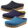 Haflinger 711056 Grizzly Kris Damen Herren Hausschuhe Pantoffeln Wolle  001