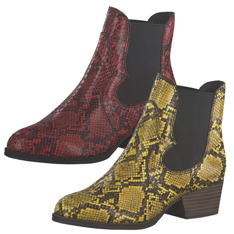 33 1 25823 Damen Tamaris Chelsea Stiefeletten Boots PuTZOkXi