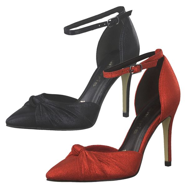 Tamaris 1-24449-33 Damen Pumps High-Heels Riemchenpumps