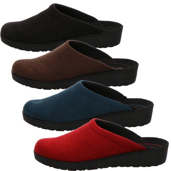 Rohde 4320 Roma Damen Pantoffeln Hausschuhe Keilabsatz