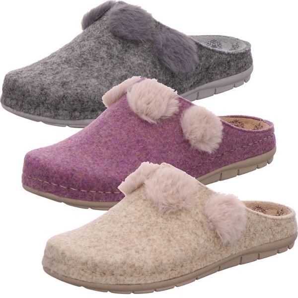 Rohde Damen 6192 Rodigo-D Pantoffeln Hausschuhe Softfilz