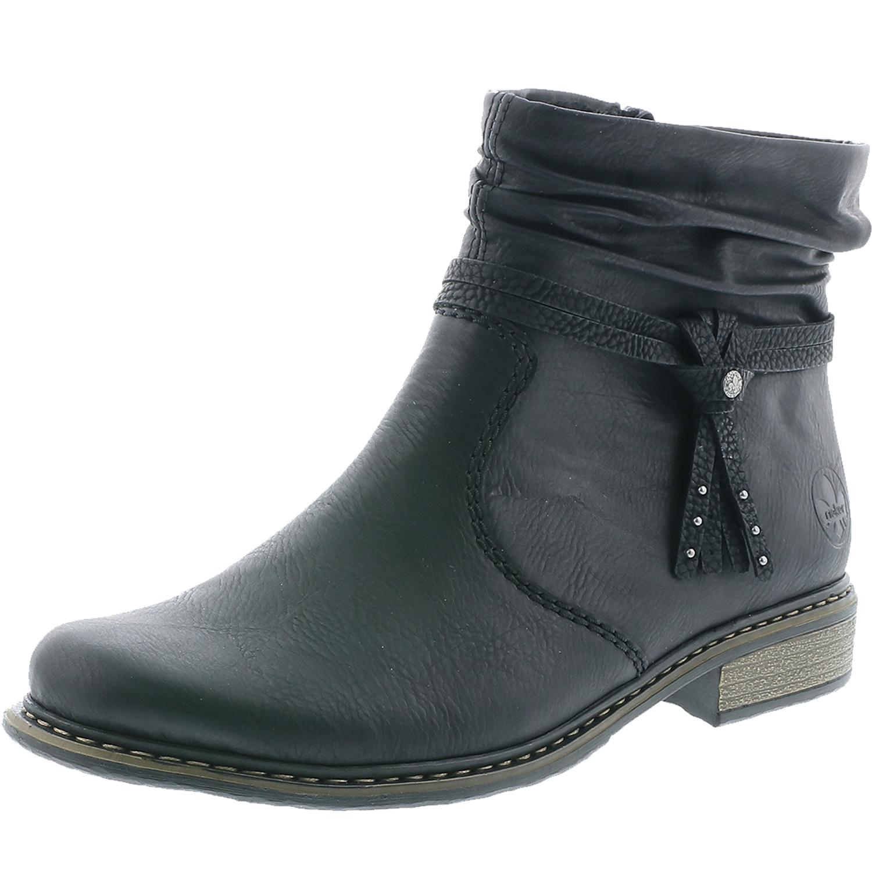 Rieker Stiefeletten Z4953 00 Damen Ankle Boots oR0Q4