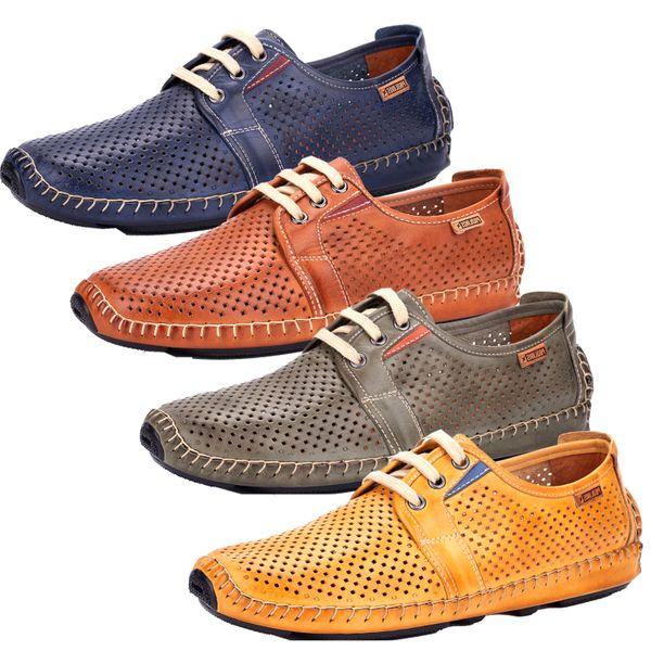 Pikolinos 09Z-6038 Jerez Schuhe Herren Halbschuhe Schnürschuhe Leder