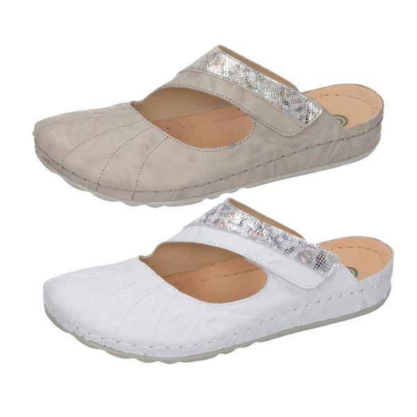 Dr. Brinkmann 701520 Damen Schuhe Clogs Pantoletten Leder