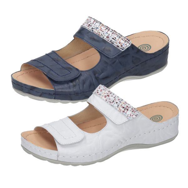 Dr. Brinkmann 701527 Schuhe Damen Clogs Pantolette Leder