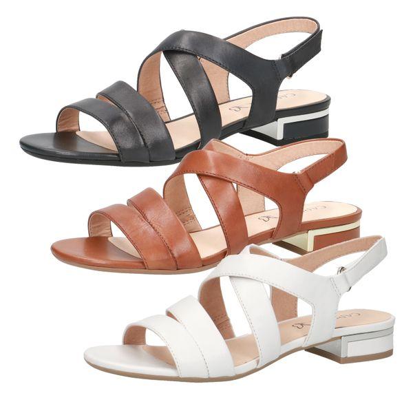 Caprice 9-28100-24 Damen Sandalen Leder Sandaletten