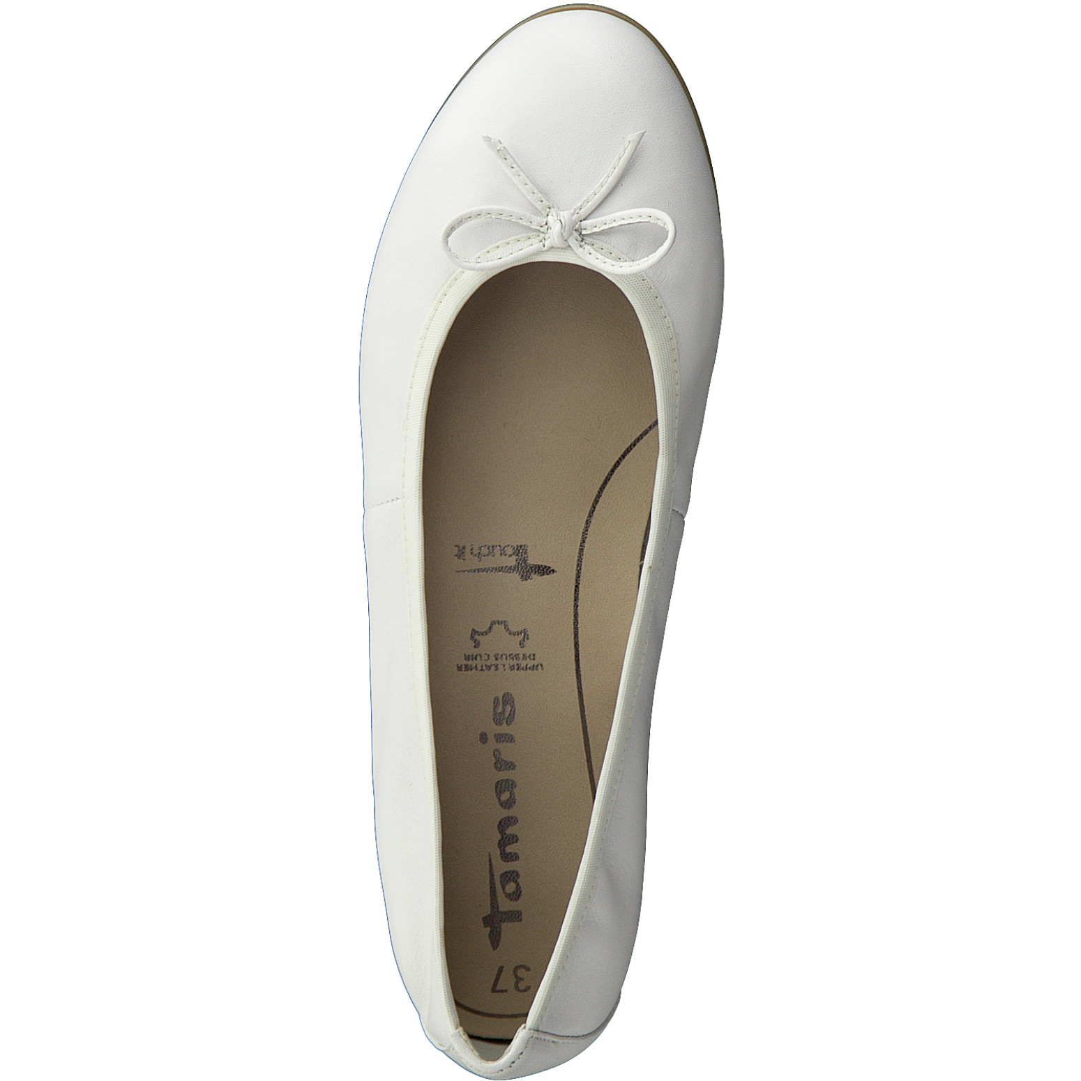 Tamaris 1 22116 24 Damen Ballerinas Schuhe Slipper Leder