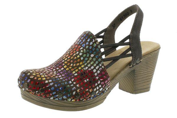 Rieker M1668 14 Damen Sandalen geschlossene Ferse Sandaletten Ianto