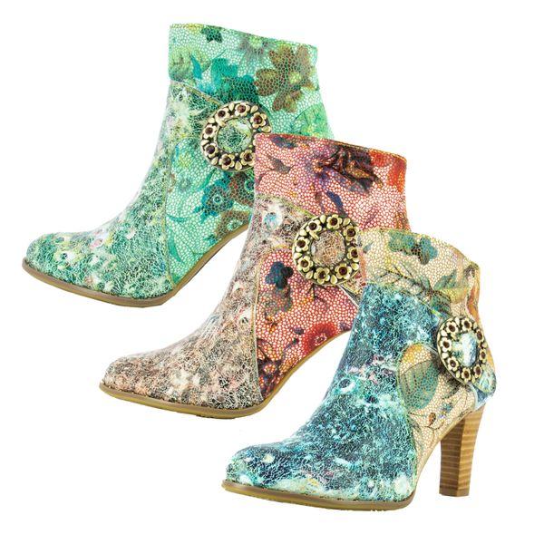 Laura Vita Alcbaneo-221 Damen Ankle Boots Stiefeletten