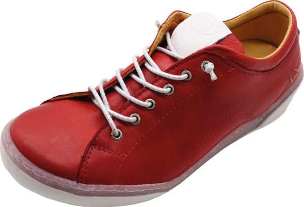 Miccos 207767 Damen Sneaker Schnürschuhe Leder