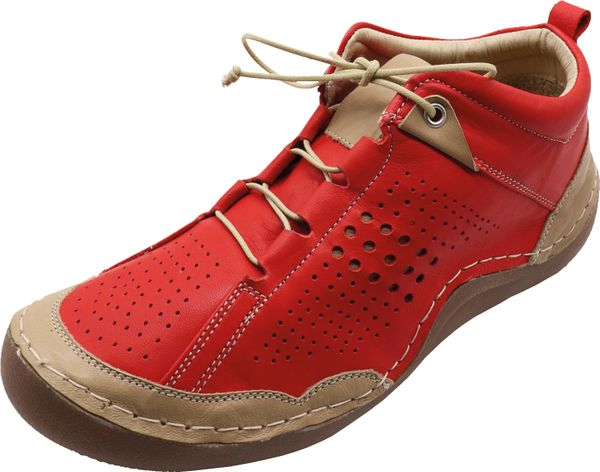 Miccos 207773 Damen Halbschuhe Schnürschuhe Leder Sneaker