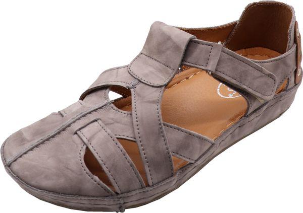 Miccos 391286 Damen Sandalen Keilabsatz Sandaletten