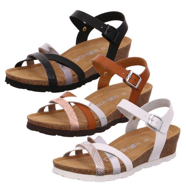 Rohde 5526 Verona Damen Sandalen Sandaletten Weite G